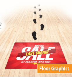 Adhesive Floor Graphics in DC