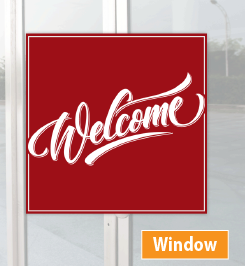 Window Adhesive Printing in DC