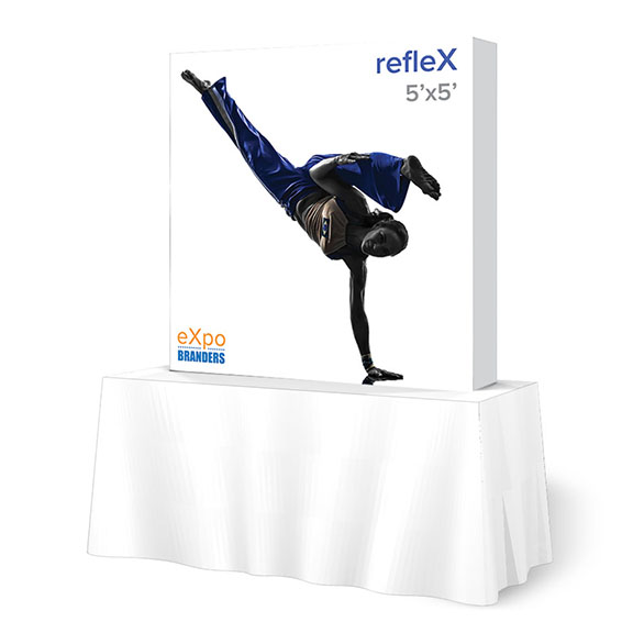 refleX-5ft-table-top-display-arlington-va-dc-pa-nyc